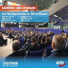 Seitdem die AfD in den Bundestag eingezogen ist, ist es im Hohen Haus der Politik mit der unverdienten Ruhe vorbei. Die etablierten ... Islam, Political Satire, Germany, Politics, Humor, Collage, Europe, Brave New World, Truth Hurts