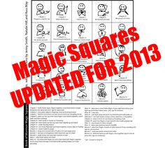 Scripture Mastery Magic Squares (BoM)