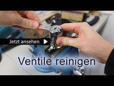 Magnetventile reinigen - YouTube
