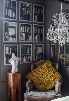 Кирпичные стены и темные поверхности: современный английский таунхаус | Пуфик - блог о дизайне интерьера