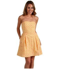 Lilly Pulitzer Felicity Dress in Starfruit Fly Away Eyelet