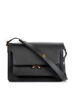 Trunk medium leather shoulder bag by Marni   Shop now at #MATCHESFASHION.COM