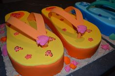 Girls Thong Cakes for a massive third birthday party