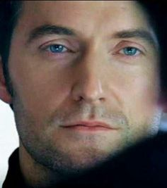 .I LOVE his eyes....I could get lost inside those blue  pools...