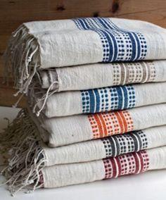 Fair Trade Aden Turkish Bath Towels - Bath Towel - Ideas of Bath Towel - Fair Trade Striped Turkish Cotton Bath Towels Textiles, Decor Scandinavian, Towel Wrap, Towel Set, Turkish Bath Towels, Boho Home, Textile Texture, Striped Towels, Home Textile