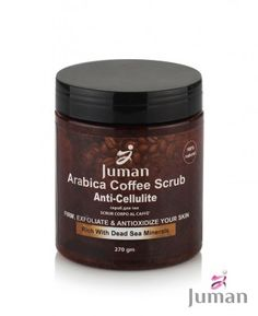 Telový peeling z kávy, minerálov z Mŕtveho mora a arganovým olejom Dead Sea Minerals, Coffee Scrub, Anti Cellulite, Body Care, Beauty, Bath And Body, Beauty Illustration
