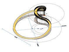 NEXT Architects' Elastic Perspective is an Impossible Mobius Strip Staircase Near Rotterdam NEXT Architects completes another pedestrian walkway, this time a Möbius strip inspired staircase overlooking Rotterdam that is certain to confuse and delight. Architecture Design, Concept Architecture, Landscape Architecture, Landscape Design, Kerala Architecture, System Architecture, Architecture Sketches, Classical Architecture, Ancient Architecture