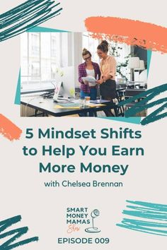 5 Mindset Shifts to Help You Earn More Money Earn More Money, Way To Make Money, Money Tips, Money Saving Tips, Inspirational Quotes About Success, Learning To Trust, Saving For Retirement, Managing Your Money, Budgeting Tips