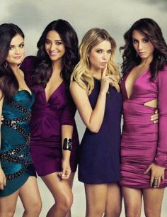 Pretty little liars is my favorite T.V. show. Their outfits on the show are just so cute.