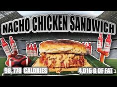 Ultimate Super Bowl Sandwich - Epic Meal Time - http://www.bestrecipetube.com/ultimate-super-bowl-sandwich-epic-meal-time/