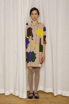 Fun and colorful textile design from Mina Perhonen.
