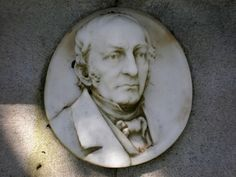 Photographic image of bas relief on James O. Larkin grave in Cypress Lawn Memorial Park in Colma, California.  Image by BrokenSphere, Wikimedia Commons.  Used under Creative Commons license CC BY-SA 3.0.