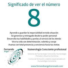 significado de ver el numero 8