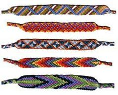 History of friendship bracelets with color meaning