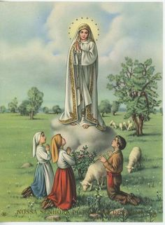Our Lady of Fatima... May 13 Our Lady appeared and asked us to spend time praying the Rosary in order to contemplate the ministry and Life of Jesus.