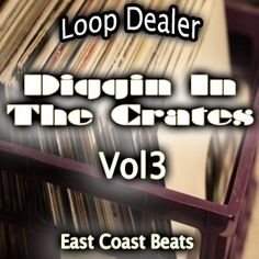 Diggin In The Crates Vol3 sounds from the likes of Slow NY Hip Hop. Mixed with smooth hip hop beats and sampling.