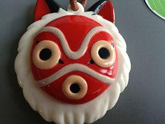 RARE Ghibli Princess Mononoke San Mask Slide Mirror New Figure Totoro Laputa | eBay