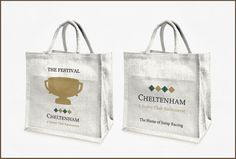 #Cheltenham Gold Cup is probably the most prestigious horse race in the Country. Cute little bags too. www.cheltenham.co.uk