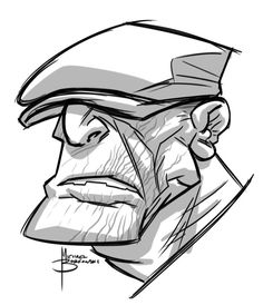 The Goon sketch by ~MBorkowski on deviantART