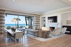 This Caribbean inspired oceanfront mansion is located in North Palm Beach, Florida and is situated on acres of land. It is owned by Elin, Nordegren, who is Tiger Woods' ex-wife. Florida Mansion, Florida Home, South Florida, Tiger Woods, Elin Nordegren, Mansion Prices, North Palm Beach, Golfer, Mega Mansions