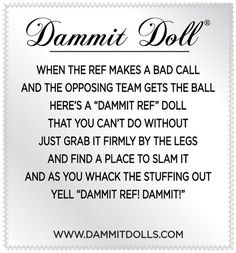 Stressed out? Whack a Dammit Doll, feel better! Dammit Dolls are great gag gifts for coworkers and friends. Stress relief can be fun! Sewing Hacks, Sewing Projects, Sewing Tips, Diy Projects, Sewing Crafts, Diy Crafts, Sewing Ideas, Damnit Doll, Doll Patterns Free