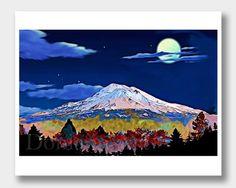 Shasta California, Mt Shasta, Mount Shasta, Cascades, Volcano, Shastina, Shasta Volcano, Cascade Volcanoes, California Mountains, California