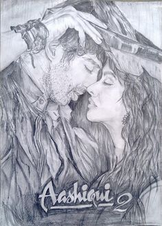 Aashiqui 2 Kyon ki tum hi ho. - Sketching by Soumya Ranjan Mohanty in My Sketches at touchtalent 67377