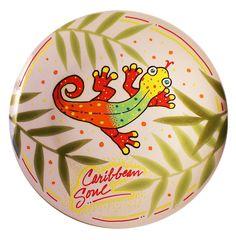 Kameleon Handpainted Plates /  Caribbean Soul. $34.99, via Etsy.