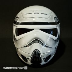 Storm Trooper Motorcycle Helmet - Why'd it Take So long?