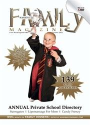 "Loving the Harry Potter! And how fitting because our October 2010 issue has our ""Annual Private School Directory!"" Sad to say, Hogwarts didn't make the list..."