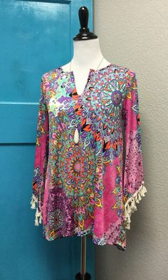 Violet Rays Tunic