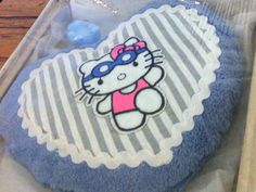 """KIRSCHKERN KISSEN """"Sunny Kitty"""" HELLO KITTY Wärmekissen ca 300g Wärme HERZ BOX"""