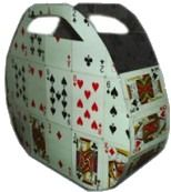 Card Purse Deck of cards, duct tape, scissors= Playing card purse!Deck of cards, duct tape, scissors= Playing card purse! Make Playing Cards, Playing Card Crafts, Diy Craft Projects, Crafts For Kids, Diy Purse, Recycled Fashion, Upcycled Crafts, Deck Of Cards, Card Deck