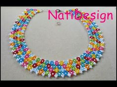 COLLAR MULTIFLORES - YouTube