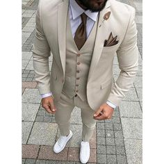 Giovani - Slim fit 3 Piece Suit