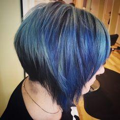 Blue hair #bluehair #lightblue #hair #blue