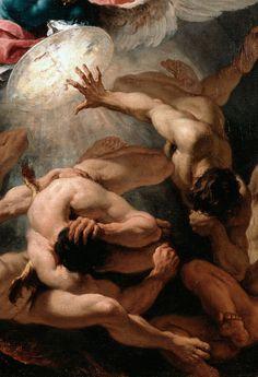Ricci Sebastiano - The Fall of the Rebel Angels (detail)
