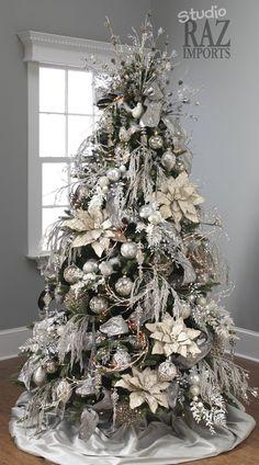 Elegant Christmas Tree Decor Ideas Unique Home Holiday Party Theme DIY