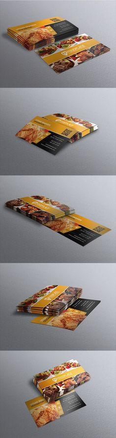 Tarjeta de Presentación - Restaurant.