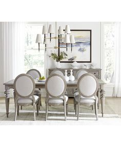 French Country Rug, French Country Dining Room, French Country Bedrooms, French Country Decorating, French Dining Rooms, Elegant Dining Room, French Country Furniture, French Country Interiors, French Dining Chairs