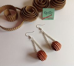 """Earrings """"Circle_02"""" a paper jewel by QuillyPaperDesign"""