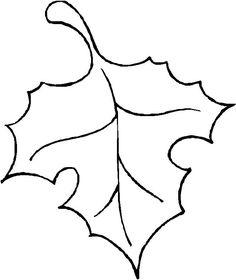 fall leaf template oak leaf outline clip art vector clip art rh pinterest com four leaf clover outline clip art palm leaf outline clip art