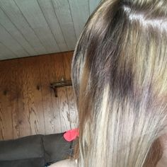 I'm in the process of lightening my hair but I have this ring area that will not take bleach.