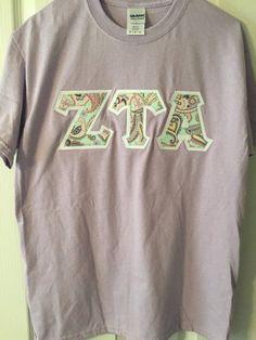 Greek Letter Shirt Adpi shirt alpha gamma by LittleGreekBoutique