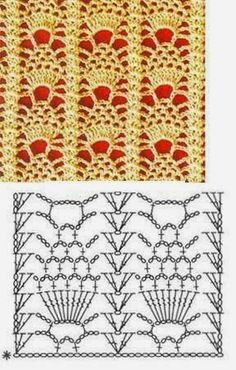The best crochet stitches for your collection * 25 motifs * | Patterns for Crochet