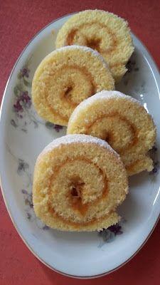 This no all / Disznóól - KonyhaMalacka disznóságai: Piskótatekercs Hungarian Recipes, Hungarian Food, Doughnut, Muffin, Sweets, Cookies, Baking, Breakfast, Cukor