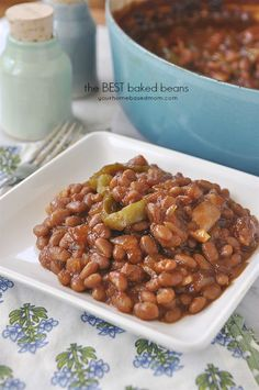 These truly are the BEST Baked beans.