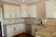Painted and glazed maple cabinets by Jacobs Brothers Cabinets