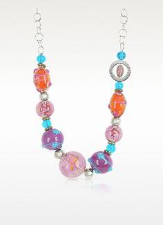 Antica Murrina Sahara - Murano Glass Necklace