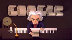 #Google dedica a #Beethoven un #doodle interattivo particolare che ripercorre le sue opere e mette alla prova gli utenti nel comporre la melodia esatta